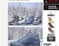 Nike Jordan Brand // Frozen Moments