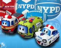2011 World Police & Fire Games Bronx Toys Products