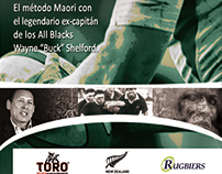 Buck Shelford Rugby Seminar in South America