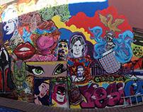 Mural Cacho & Yesi