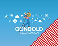 GONDOLO - Le biscuit qu'il te faut! - Branding