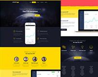 Uranos : Free App Landing Page Template