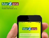 Marzena Mobile UI