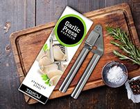 Garlic Press Package Design