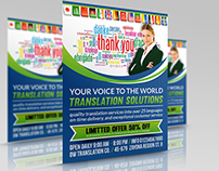 Translation Services Flyer Template
