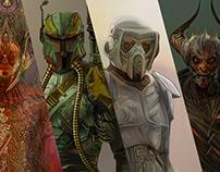 STAR WARS Characters Dark Side