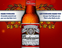 Budweiser - Name Your Bud
