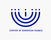 Сorporate style for the Conference of European Rabbis