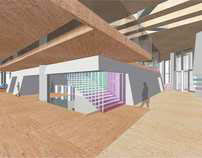 Interior Studio II: Adidas Office Tower Lobby