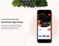 Dev Food Delivery App UI Free Download