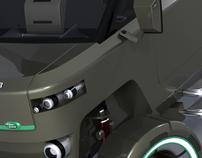 Hybrid Land Rover Defender Concept