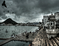 monsoon on Pushkar
