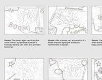 Storyboard & Previs samples (2015-2020)