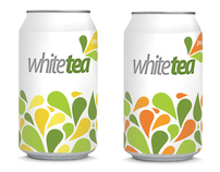 Ice tea packaging design (white tea)