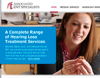 AENTS Website Design