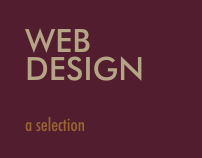 Web Design | a selection