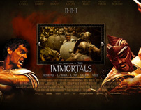 Immortals 3D - Italian Website