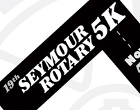 Seymour Rotary 5K Poster