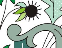 Azalleia typeface and EPS vectors