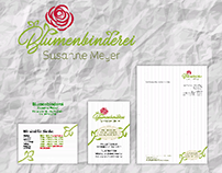 Corporate Design Blumenbinderei Meyer