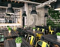 Projekt restauracji/ Wrocław