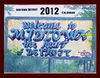 Midtown Detroit 2012 Calendar