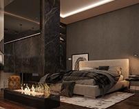 Modern interior in Presnya City