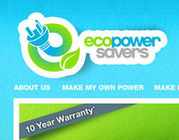 EcoPowerSavers - Website Development