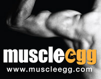 Trade Show Banner - Muscle Egg