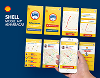 SHELL Mobile App #shareacar