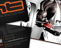 Muscle Tech Branding Concept