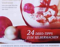 Insert in a magazine | Ferrero 2010