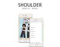 Menu Mobile - Shoulder