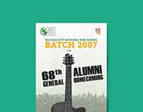General Alumni Homecoming Poster Design