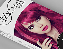 Tacome Hair Extensions Packaging