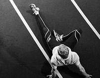 Olympic Sprinter - Johan Wissman