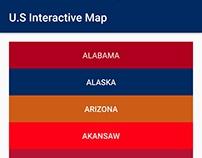 U.S Interactive Map