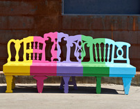 lolipop bench (estrorama park)