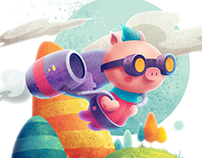 Jetpig - Made with Affinity Designer