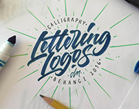 Calligraphy & Lettering Logos 2016 / Part II