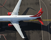 Air Belgium Rebranding Case