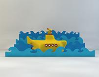 Mini Yellow Submarine