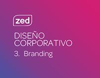 Zed - Diseño corporativo - Branding.