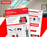 Leaflet for the company VELUX