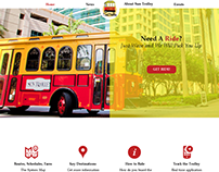 Trolley service web design