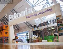 Visit Estonia Gate at Tallinn Airport