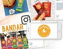 Social Media Marketing for Bandar Foods
