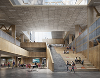 Lindholmen Technical School - Kub Architects