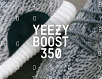 """Yeezy Boost 350"" Brand design"