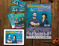 ELEMENT BAND Event Branding